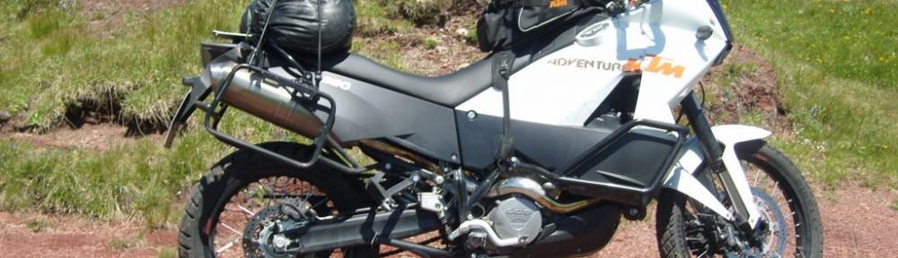 KTM 990 Adventure Monte Paularo