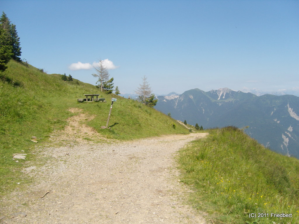 Ostalpen Teil 2: Über den Passo della Forcella und Malga Losa zum Lago di Sauris