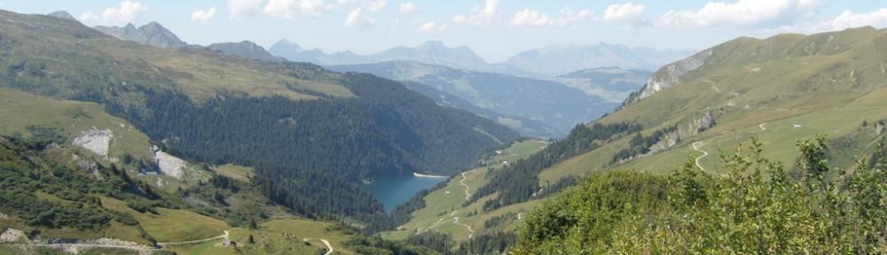 Blick zurück zum Lac de Saint Guérin
