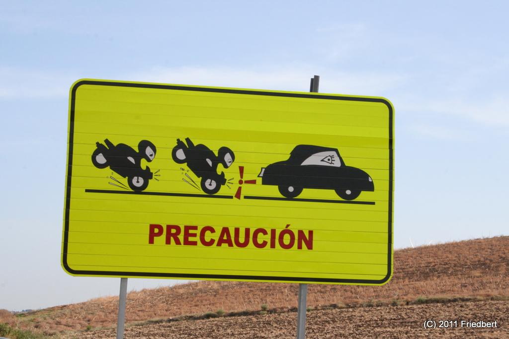 Der Schilderwald: Spanien