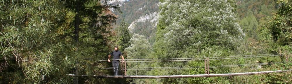 Brücke im Sočatal