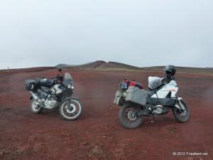 Island der erste Tag    von Þórshöfn nach Goðafoss    entlang der Wasserfälle