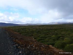 Schotterpiste von Húsavík nach Mývatn