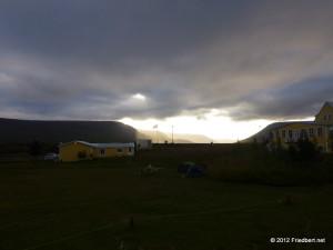 Zurück am Goðafoss