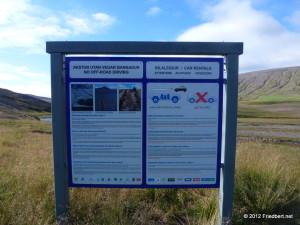 Island Tag 4: Ab ins Hochland    vom  Goðafoss in die Sprengisandur und zurück über Akureyri